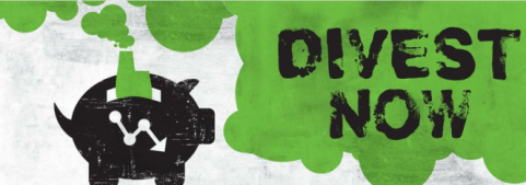 divest now banner